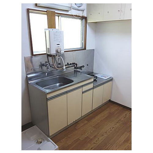 Rental apartment suzukakedai 2K(kitchen)